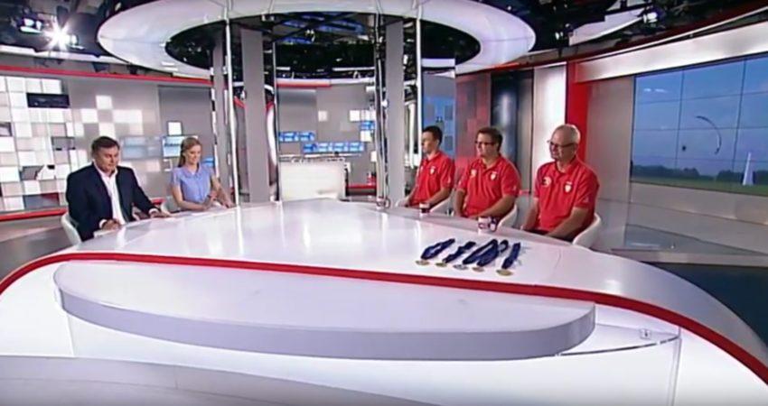 Relacja z Motoparalotniowych Mistrzostw Europy w TVP INFO
