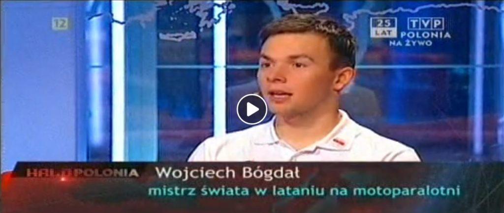 Wojciech Bógdał w Halo Polonia