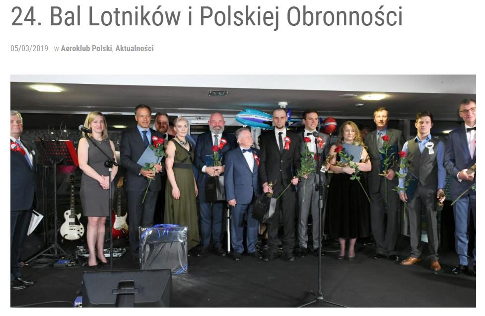 24. Bal Lotników i Polskiej Obronności